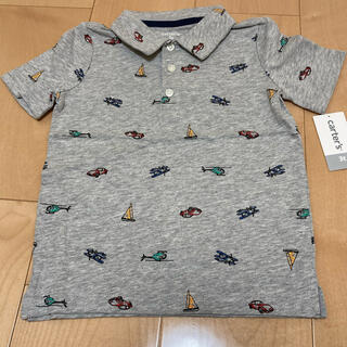 カーターズ(carter's)のカーターズ 半袖ポロシャツ 車、船、ヘリ(Tシャツ/カットソー)