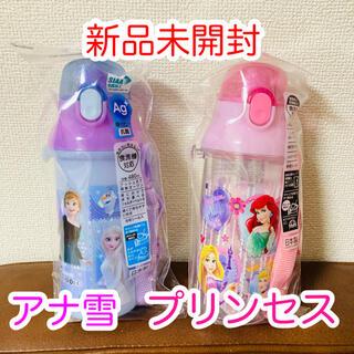 ディズニー(Disney)の抗菌食洗機対応 直飲みプラワンタッチボトル アナと雪の女王 プリンセス(水筒)