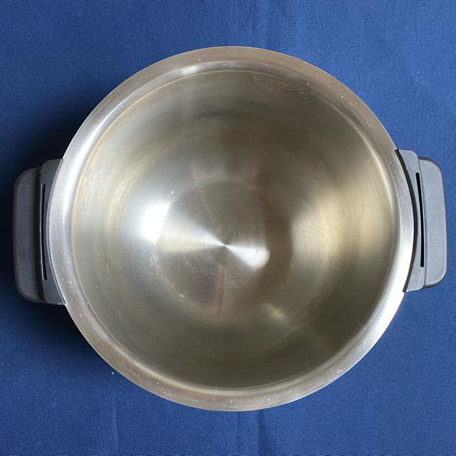 SHARP(シャープ)のシャープ ホットクック 1.6L内鍋 ステンレス テフロン加工なし スマホ/家電/カメラの調理家電(調理機器)の商品写真