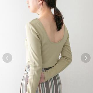 ケービーエフプラス(KBF+)のバックオープンロンT(Tシャツ(長袖/七分))