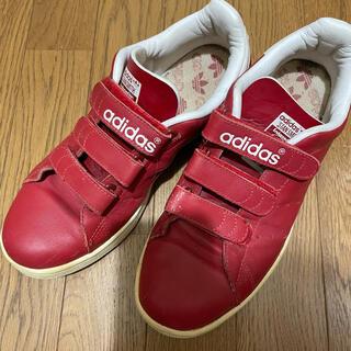 adidas - アディダス スタンスミス ベルクロ レッド 26.5