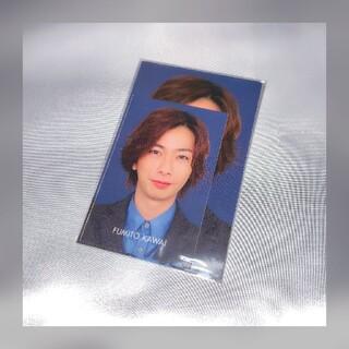 エービーシーズィー(A.B.C.-Z)のA.B.C-Z 河合郁人 Myojo データカード大•小 各1枚セット(アイドルグッズ)