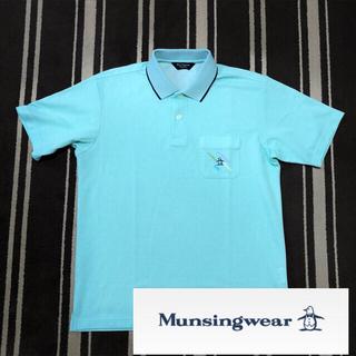 マンシングウェア(Munsingwear)の未使用 マンシングウェア グランドスラム ゴルフ 半袖ニットポロシャツ L(ウエア)