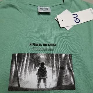 ジーユー(GU)のGU 鬼滅の刃 ロングスリーブT(Tシャツ/カットソー(七分/長袖))