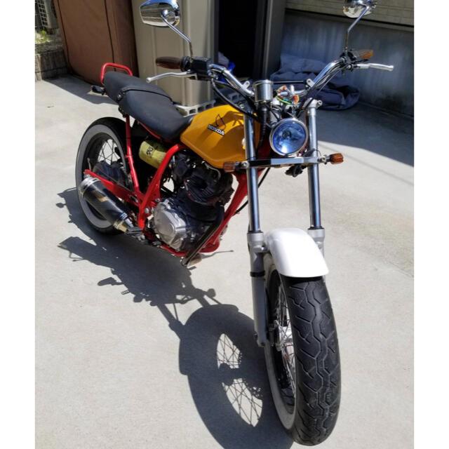 ホンダ(ホンダ)のFTR223カスタム 自動車/バイクのバイク(車体)の商品写真