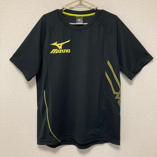 MIZUNO - MIZUNO ミズノ Tシャツ メンズM 半袖 ブラック×イエロー