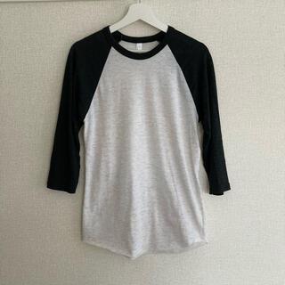 アメリカンアパレル(American Apparel)のAmerican Apparel ラグランTシャツ(Tシャツ(長袖/七分))