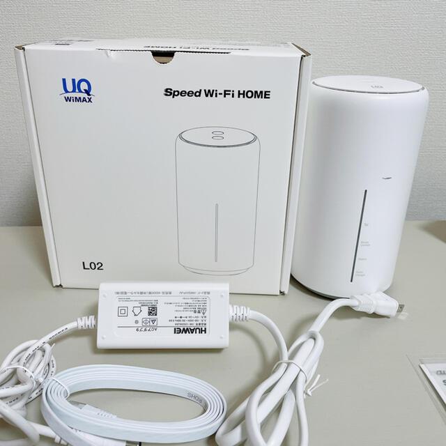 HUAWEI(ファーウェイ)のHAUWEI  speed wifi HOME L02 スマホ/家電/カメラのPC/タブレット(PC周辺機器)の商品写真