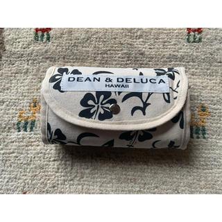 DEAN & DELUCA - 再入荷★DEAN&DELUCA ハワイ限定エコバッグ 黒ハイビスカス柄