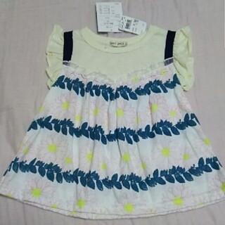 未使用タグ付き 女の子 Tシャツ 110