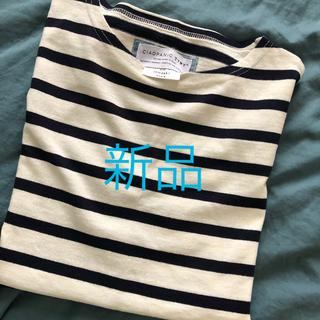 チャオパニックティピー(CIAOPANIC TYPY)の未使用 メンズ チャオパニックティーピ ボーダーTシャツ S(Tシャツ/カットソー(半袖/袖なし))