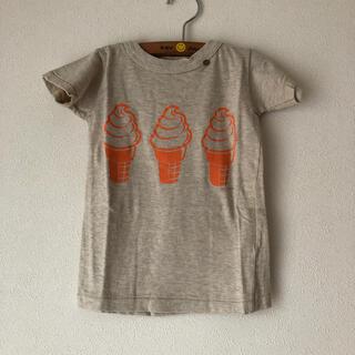 ゴートゥーハリウッド(GO TO HOLLYWOOD)の新品タグ付きゴートゥーハリウッドソフトクリームTシャツ100(Tシャツ/カットソー)