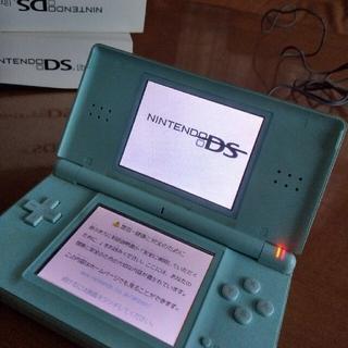 ニンテンドーDS(ニンテンドーDS)のNintendo DS ニンテンド-DS LITE アイスブルー ジャンク(携帯用ゲーム機本体)