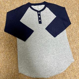 アメリカンアパレル(American Apparel)のアメリカンアパレル ラグランスリーブTシャツ 七分袖 Sサイズ 美品(Tシャツ/カットソー(七分/長袖))
