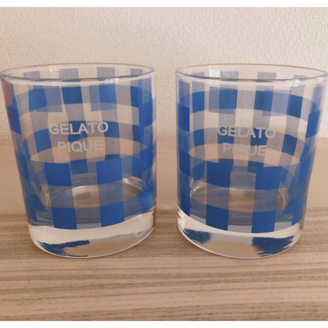 gelato pique(ジェラートピケ)のジェラートピケ  グラス タンブラー コップ 2個セット インテリア/住まい/日用品のキッチン/食器(グラス/カップ)の商品写真
