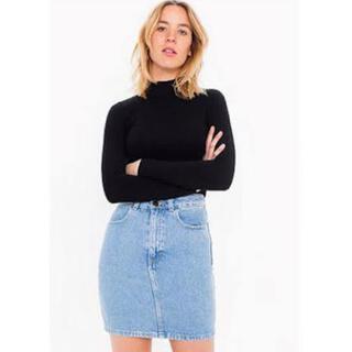 アメリカンアパレル(American Apparel)のamerican apparel...デニムスカート(ミニスカート)