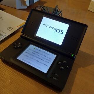 ニンテンドーDS(ニンテンドーDS)のNintendo DS ニンテンド-DS LITE ジェットブラック(携帯用ゲーム機本体)