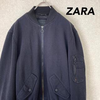 ザラ(ZARA)のザラ MA-1 ブルゾン フライトジャケット 古着 メンズ レディース S M(ブルゾン)