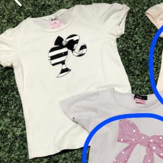 バービー  130 140  半袖Tシャツ 3枚(Tシャツ/カットソー)