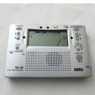 KORG - KORG TM-40 デジタルチューナーメトロノーム