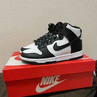 NIKE - NIKE WMNS DUNK HIGH BLACK 25cm