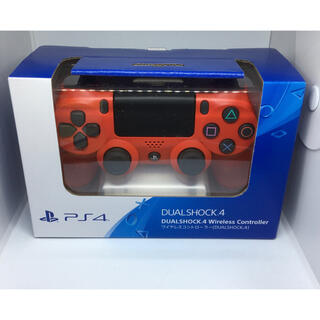 プレイステーション4(PlayStation4)のプレステ4 PS4 コントローラー デュアルショック 純正 赤(その他)