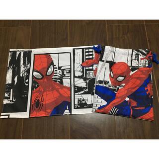 スパイダーマン ランチマット 巾着(ランチボックス巾着)