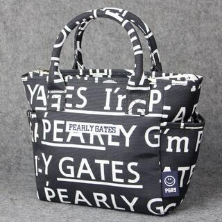 パーリーゲイツ(PEARLY GATES)の 新品    男女兼用 ゴルフ トートバック   ブラック(バッグ)