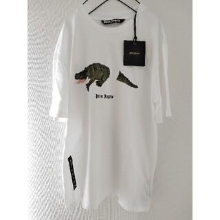 PALM - 未使用 Palm Angels ロゴプリント ワニ柄 Tシャツ