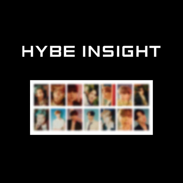防弾少年団(BTS)(ボウダンショウネンダン)のBTS HYBE INSIGHT Photocard Set トレカ エンタメ/ホビーのCD(K-POP/アジア)の商品写真