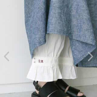 SM2 - 新品 サマンサモスモス 35th  SA刺繍パンツ ペチパンツ フリルパンツ