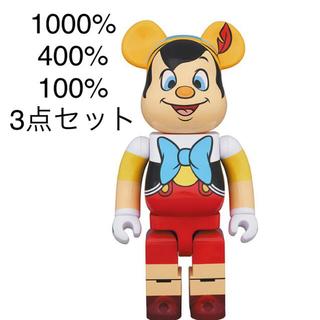 メディコムトイ(MEDICOM TOY)の新品 BE@RBRICK PINOCCHIO 1000% ベアブリック ピノキオ(その他)