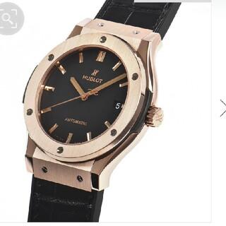 ウブロ(HUBLOT)のHUBLOT クラシックフュージョン キングゴールド(腕時計(アナログ))