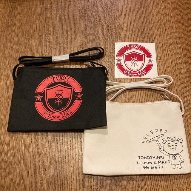 【やけくそセール】東方神起ショルダーポーチ2個セット レディースのバッグ(ショルダーバッグ)の商品写真