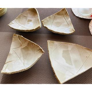手作り陶器☆小皿4枚☆(食器)