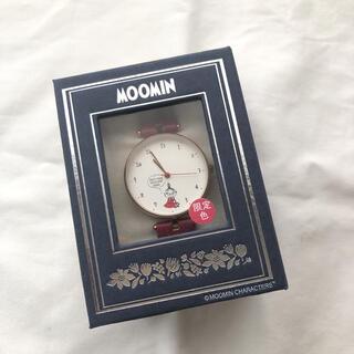《限定色》フィールドワーク 腕時計 ムーミン バルーンアートウォッチ 革ベルト