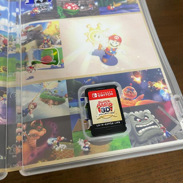 Nintendo Switch(ニンテンドースイッチ)の【美品】スーパーマリオ 3Dコレクション Switch エンタメ/ホビーのゲームソフト/ゲーム機本体(家庭用ゲームソフト)の商品写真