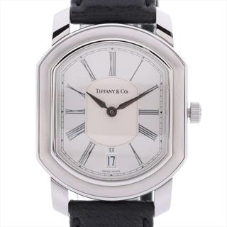 Tiffany & Co. - ティファニー マーククーペ SS×革   レディース 腕時計