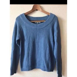 オゾック(OZOC)のOZOC 長袖 ブルーのニット オゾック 秋服   ニットセーター(ニット/セーター)