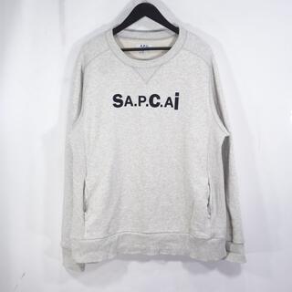 sacai - SACAI 21ss A.P.C. SWEAT TANI サカイ アーペーセー