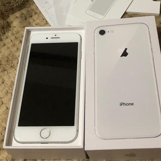 iPhone - iPhone8 64G シルバー ドコモ判定○ 美品!