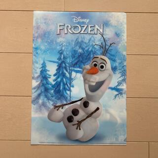 ディズニー(Disney)のディズニー アナと雪の女王 オラフver.(クリアファイル)