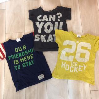 エフオーキッズ(F.O.KIDS)のTシャツ 90  3枚セット(Tシャツ/カットソー)