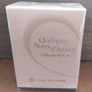 イヴロシェ(Yves Rocher)のイヴロシェQuelques Notes D'Amour50ml(香水(女性用))