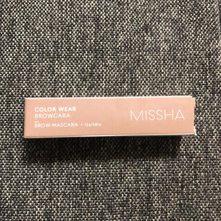 ミシャ(MISSHA)のMISSHA カラーウエア ブロウケア ブロウマスカラ(眉マスカラ)