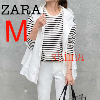 ZARA - ZARA ストライプTシャツ ボーダーTシャツ Dolce MilaOwen