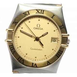 オメガ(OMEGA)のオメガ コンステレーション デイト ハーフバー  クォーツ メンズ 【中古】(腕時計(アナログ))