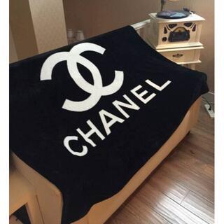 人気  CHANEL  ココマーク 毛布