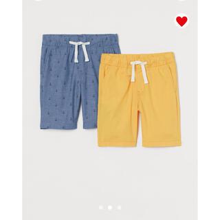 エイチアンドエム(H&M)の【新品】H&M  ショートパンツ ハーフパンツ2着セット(パンツ/スパッツ)