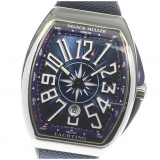 フランクミュラー(FRANCK MULLER)の☆良品 フランクミュラー ヴァンガード ヨッティング メンズ 【中古】(腕時計(アナログ))